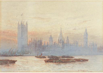 The Houses of Parliament, West