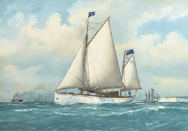 Giroflée in the Channel (illus