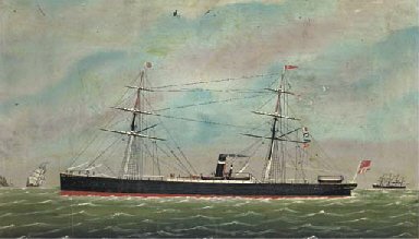 The auxiliary steamer Sesostri