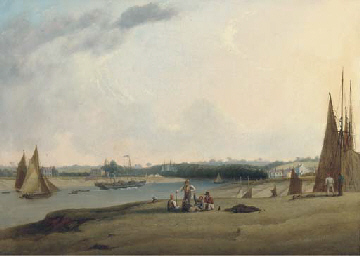 A paddle-steamer and other shi