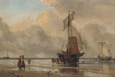 On the sands at Scheveningen