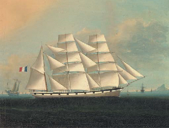 A French barque in the company