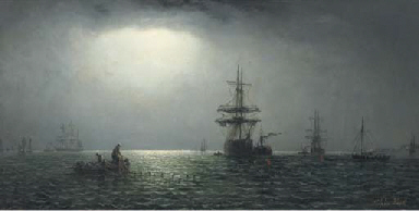 Shipping in coastal waters by