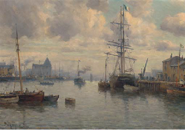 Shipping in the harbour at Nan