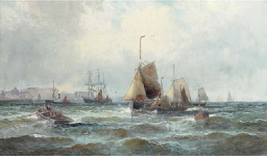 Shipping in the Channel off th