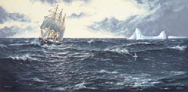 Shackleton's Endurance enterin