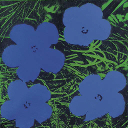 Study for Warhol Flowers