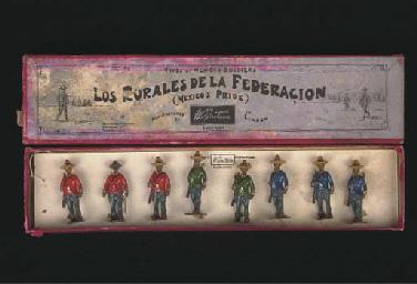 A Britains set 186 Mexican Sol