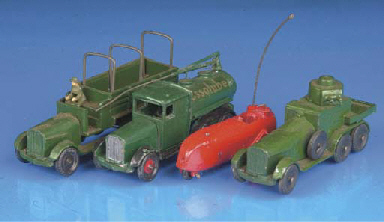 Skybird Vehicles and Figures