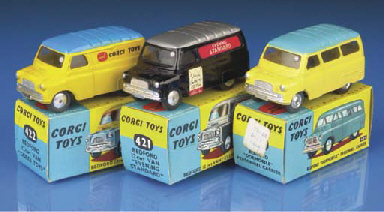 Corgi 2nd type Bedfords with o