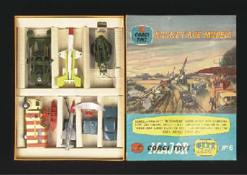 A Corgi Gift Set 6 Rocket Age
