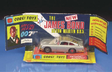 A Corgi silver 270 James Bond