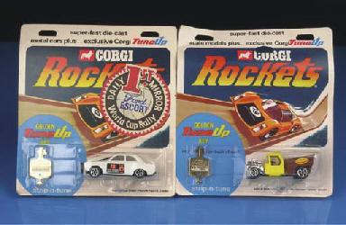 Corgi Rockets, 1970