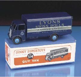 A Dinky dark blue 514 Guy Lyon