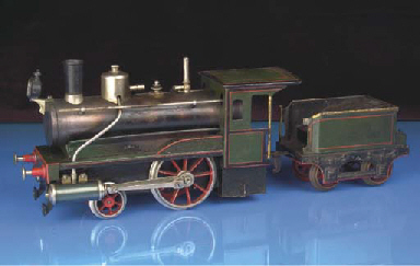 Carette spirit-fired steam 2-2
