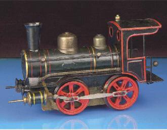 A Märklin Gauge II clockwork B