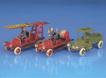 Ernst Plank miniature vehicles