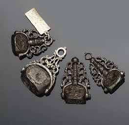 Four early 19th century iron f