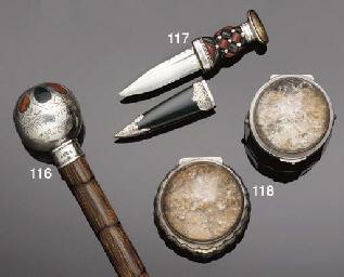 Two 19th century silver-mounte