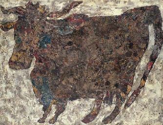 Vache tachetée