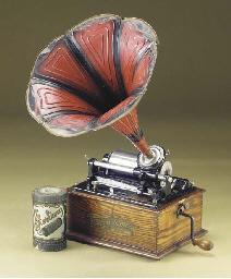 An Edison Bell Elf Phonograph