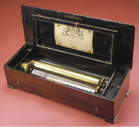 A musical box by Bendon