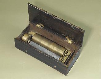 A musical box by B.H. Abrahams
