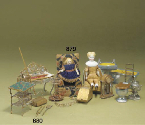 Dolls' house chattels and doll