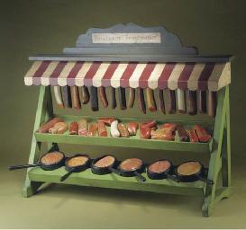 A German toy cured meat market