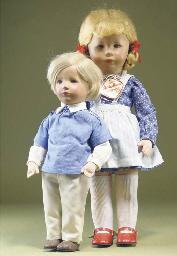 Late Kathe Kruse dolls