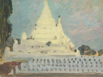 Pagoda:Twilight, Myanmar