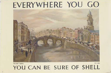 EVERYWHERE YOU GO, THE LIFFEY,