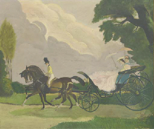 A summer carriage drive