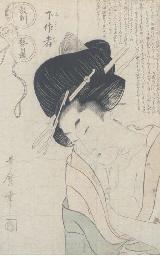 Utamaro, oban tate-e