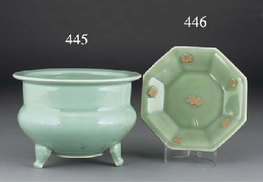 A Chinese Longquan celadon foo
