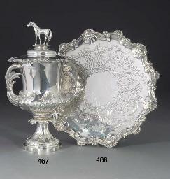 A George III Silver Salver