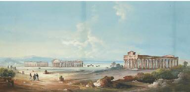 Panorama dei Templi di Paestum