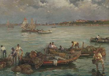 Palermo, barche pescherecce