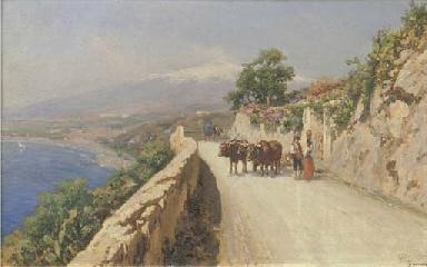 Taormina, sosta lungo la via