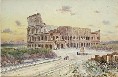 Veduta del Colosseo