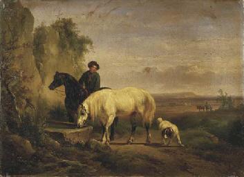 L'abbeverata, 1846