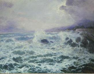 Mareggiata sotto costa