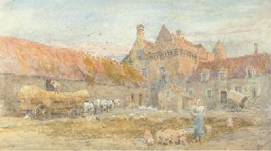 The Farmyard at the Château d'