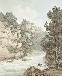 The river near Hawthornden, De