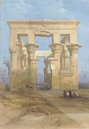 The Hypaethral temple, Philae,