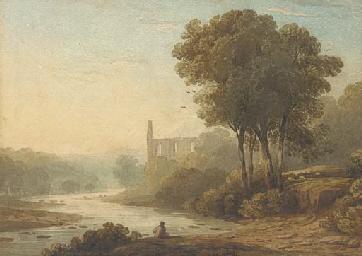 Bolton Abbey on the Wharfe, Yo