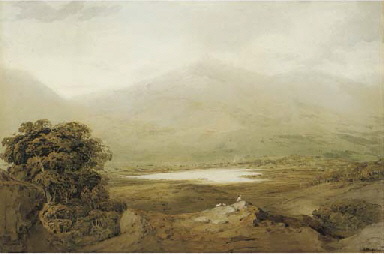 View of Snowdon, North Wales