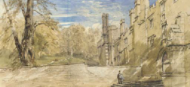 The Terrace, Haddon Hall, Derb