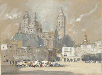 Possibly Salamanca Cathedral,