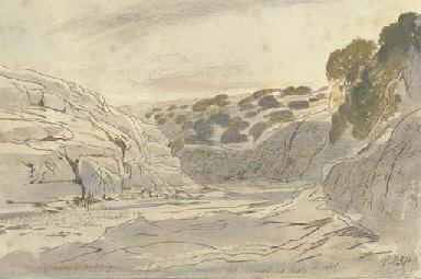 Lonely valley of Zebbug, Malta